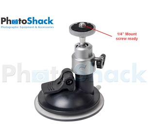 Ball head with Suction Cup