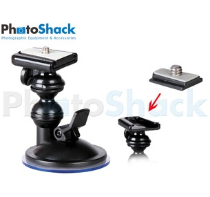 Flexible Suction Mount - Angular - 800g Load