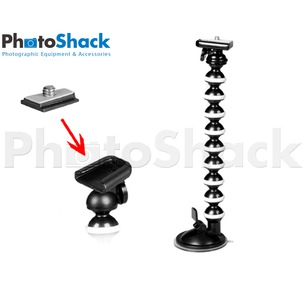 Flexible Monopod - Suction Mount - Medium 800g Load