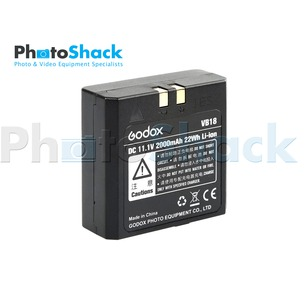 GODOX VB-18 Li-ion Battery for Godox V860 & V850 Camera Flash