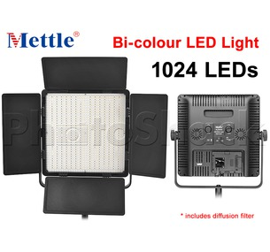 1024 LED Studio Light - Bi-colour Mettle VL1024D