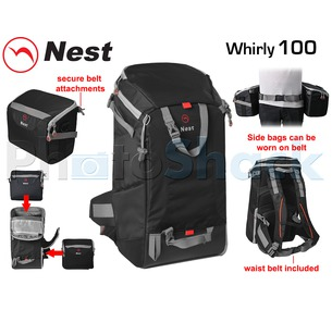 Camera Transformer Backpack- NEST WHIRLY