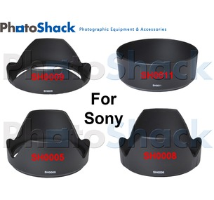 Lens Hoods for SONY lenses