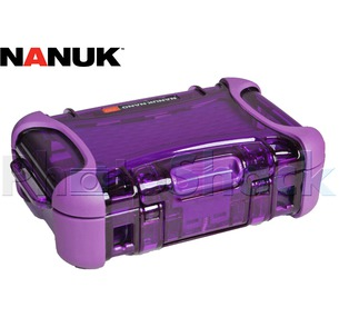 Nanuk Nano Hard Case Purple