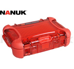 Nanuk Nano Hard Case Red