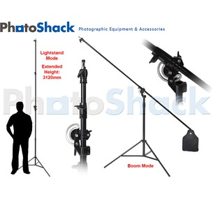 Boom Stand /TALL Light Stand - MULTIFUNCTIONAL