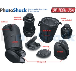 Lens/Filter Pouch - OP/TECH USA