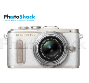 Olympus PEN E-PL8 Mirrorless Micro Four Thirds Digital Camera - Single Lens Kit (White)