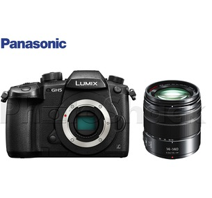 Panasonic LUMIX DC-GH5 Camera & Vario 14-140mm f/3.5-5.6 ASPH. POWER O.I.S. Lens Kit