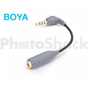 Boya Smartphone iPhone / iPad Microphone Adapter (TRS-TRRS)