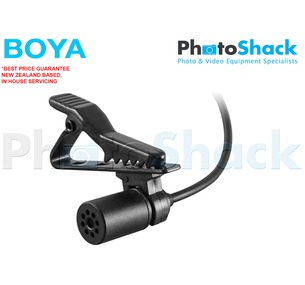 Lavalier - Mic Clip on Lapel Microphone - Boya