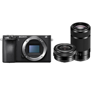 Sony Alpha a6500 16-50mm + 55-210mm Lens Kit