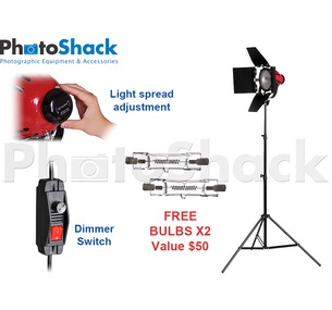 Red Head Continuous Light 800w with 1 Stand