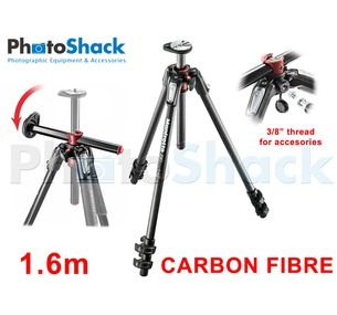 Manfrotto 1.6m 3 sections Carbon Fibre Tripod Legs with 90° Rotatable Centre Column