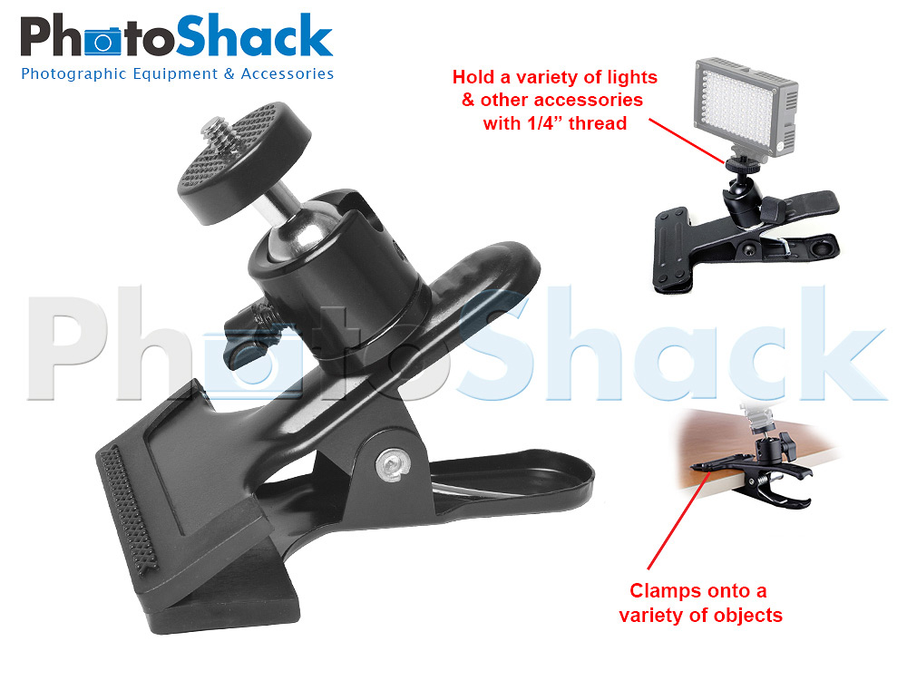 Multi-Purpose Ball Head Clamp