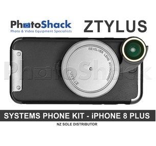 ZTYLUS Revolver Kit for iPhone 8 PLUS - Silver