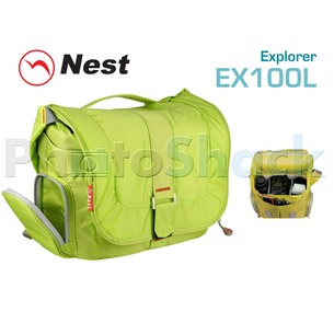Camera Shoulder bag - Nest Explorer 100L - Green
