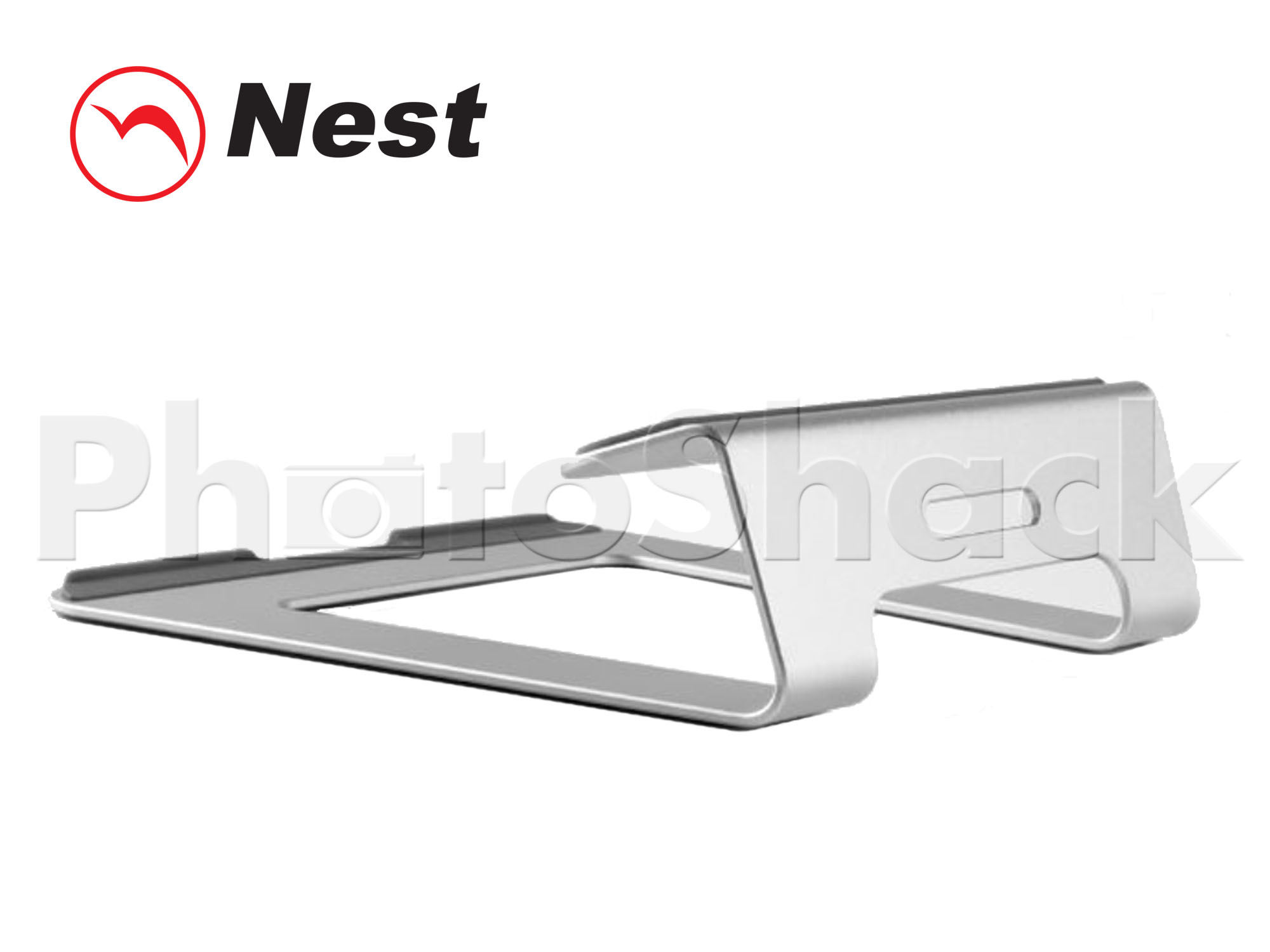 "Laptop Stand for 10-15"" Laptops - Silver"
