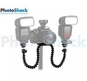 Octopus Arm Double Flash Mount
