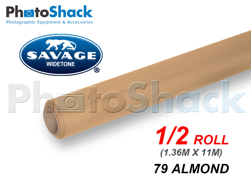 SAVAGE Paper Backdrop Half Roll - 79 Almond
