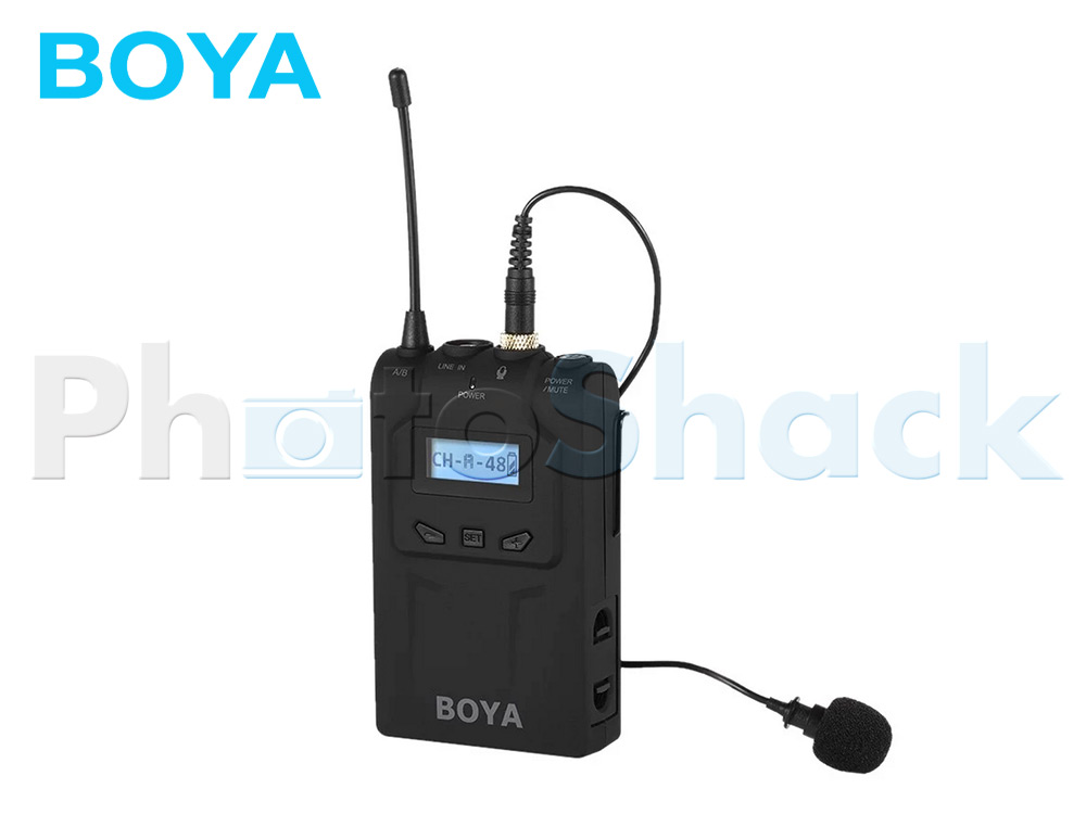 Boya BY-WM8T Professional UHF Dual-Channel Wireless Transmitter