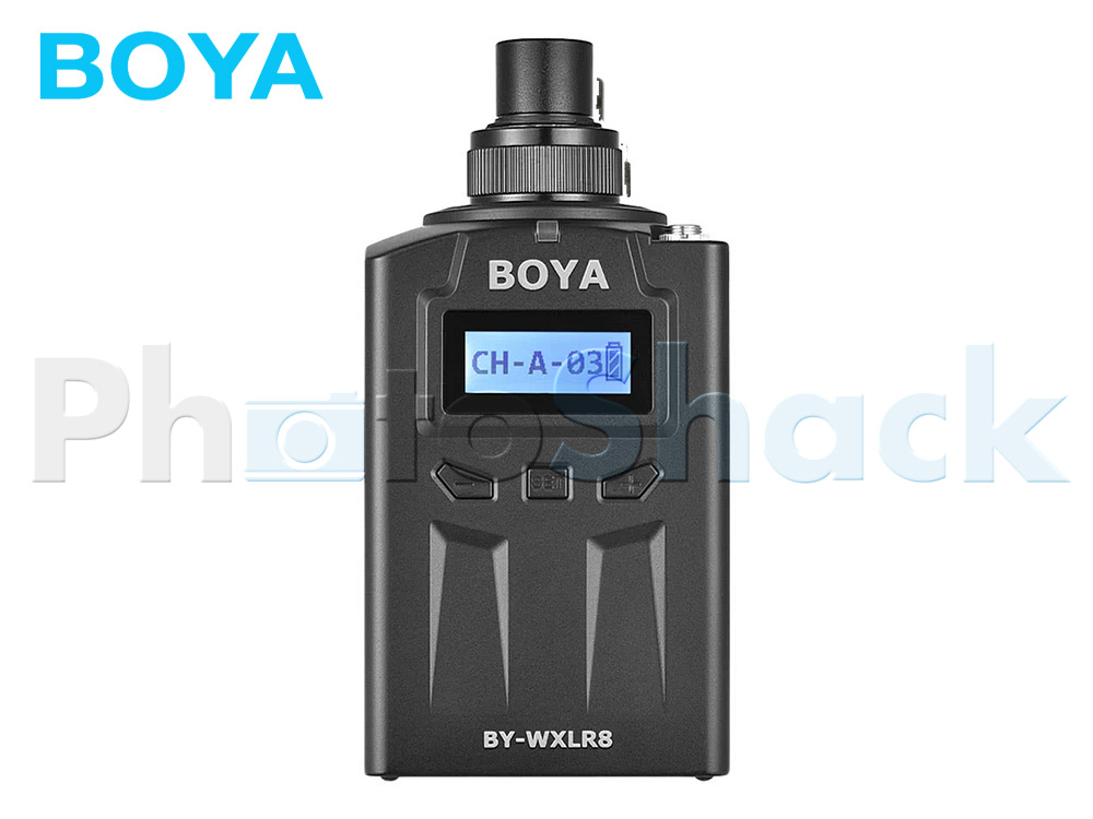Boya BY-WXLR8 Wireless XLR Plug-on Transmitter
