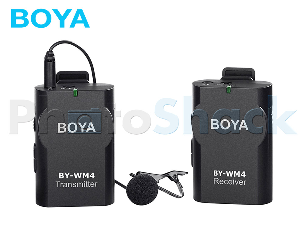 Boya BY-WM4 Wireless Microphone Kit