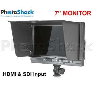 "7"" Field Monitor with HDMI & HD-SDI - F&V"