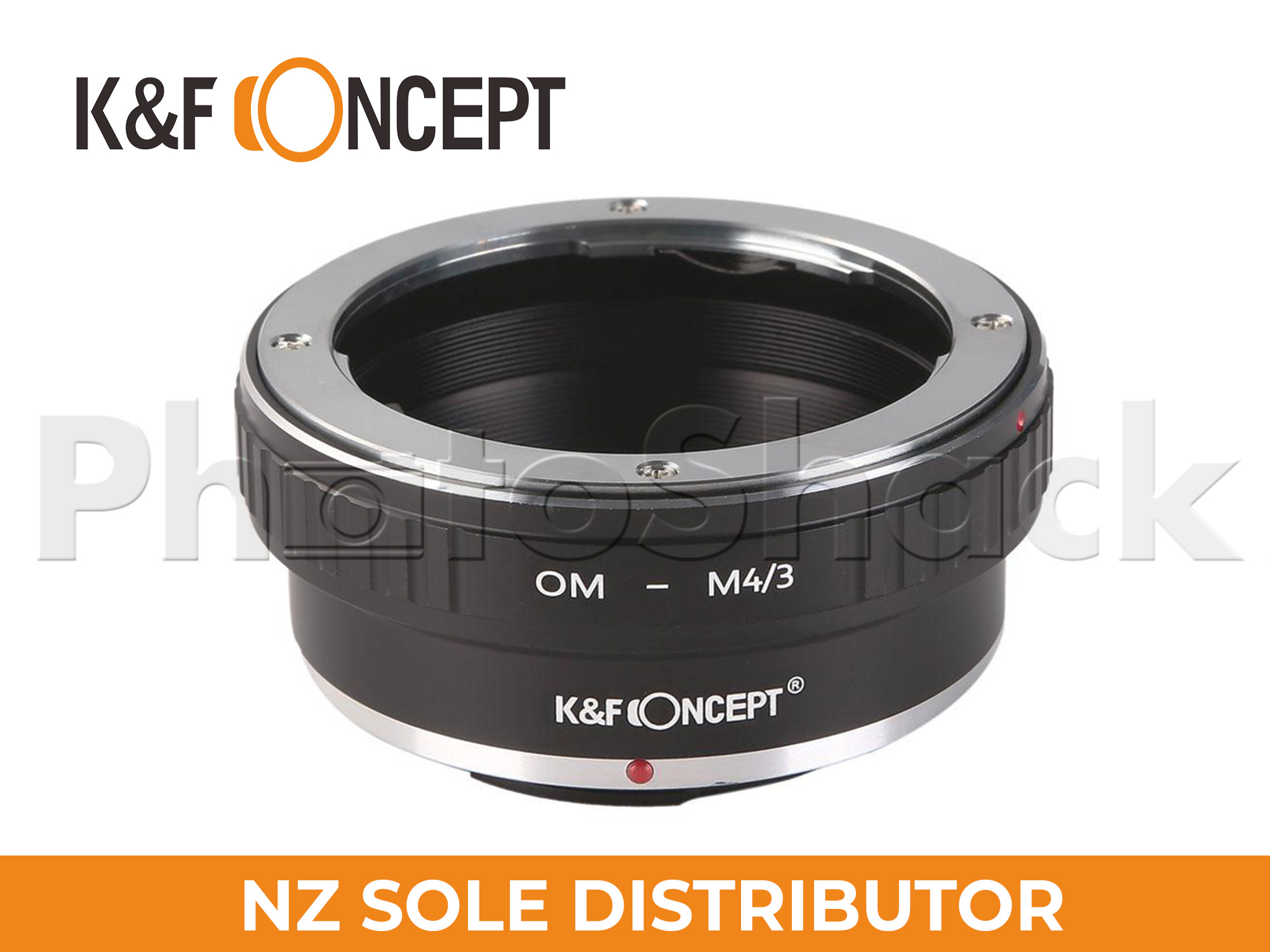 K&F Concept Olympus OM Lenses to M43 MFT Mount Camera Adapter