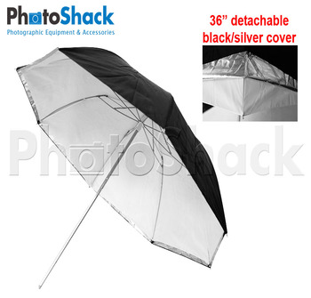 3 Fold Umbrella Detached 36""
