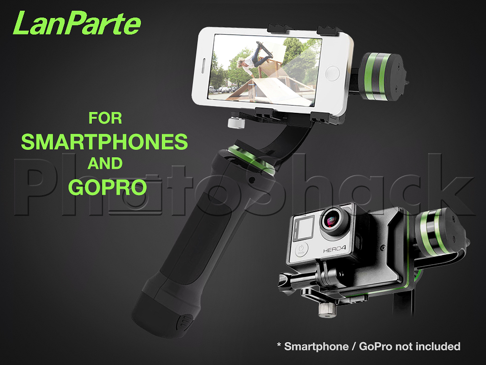 Lanparte Handheld Gimbal for Smartphone AND GoPro
