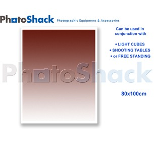 Gradated Paper Background Brown 100x80