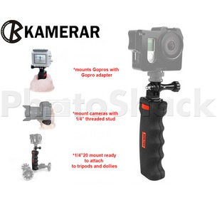 Camera Pistol Grip - KamPro With GoPro adapter