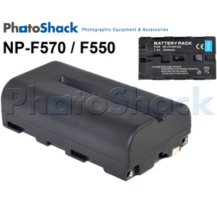F550/F570 Rechargeable Battery for Sony