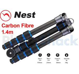 Nest 1.4m Carbon Fibre Tripod 5 section