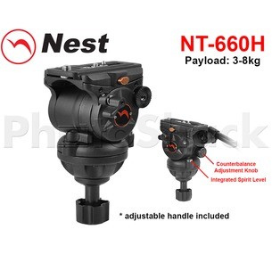 Nest Fluid Globe Panning Head - NT-660H