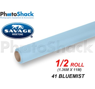SAVAGE Paper Backdrop Half Roll - 41 BlueMist