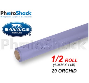 SAVAGE Paper Backdrop Half Roll - 29 Orchid