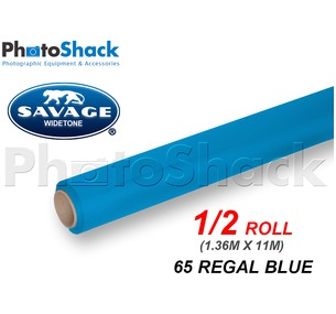 SAVAGE Paper Backdrop Half Roll - 65 Regal Blue