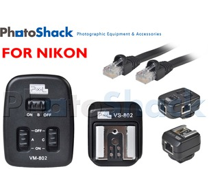 TTL for Speedlight- Network Cable - NIKON