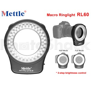 LED Macro Ringlight - Mettle RL60