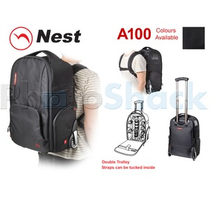 Camera Bag - Backpack Dbl Trolley Athena A100