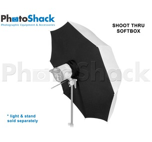 SOFTBOX UMBRELLA - SHOOT THROUGH