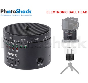 Electronic timer ball head for sliders or tripods