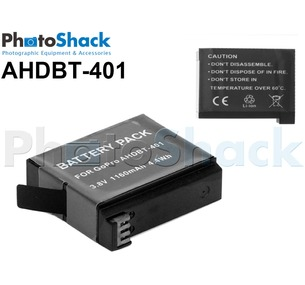 AHDBT401 Camera Battery for GoPro Hero4