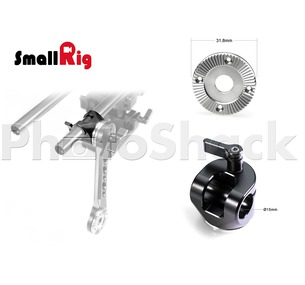 SmallRig 15mm Rod Clamp with Arri Rosette - 1686