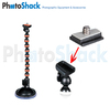 Flexible Monopod - Suction Mount - Small - 200g Load