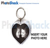 Key Ring Heart Shape � insert your own pix