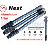Nest 1.5m Aluminium Tripod 4 section