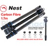 Nest 1.7m Carbon Fibre Tripod 4 section